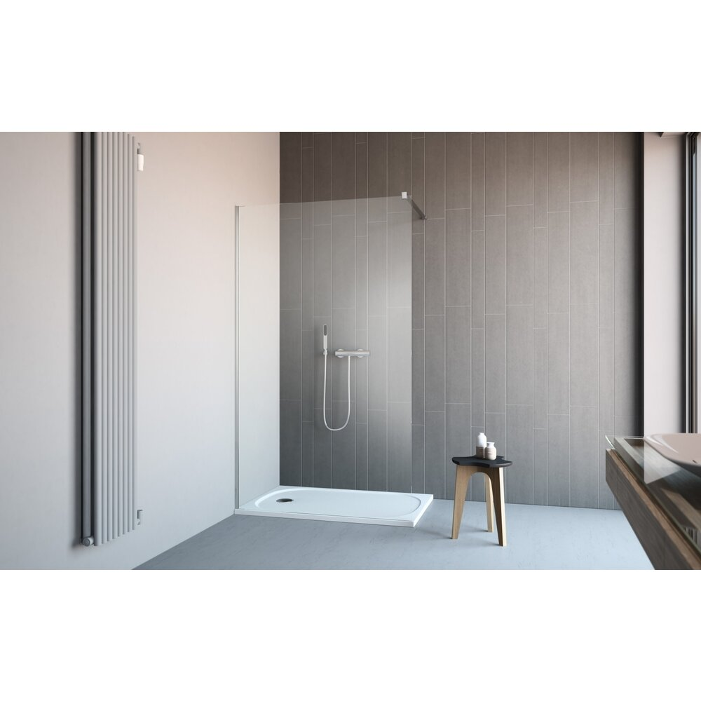 Cabina de dus tip Walk-in Radaway Classic 120 cm imagine neakaisa.ro