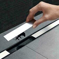Capac pentru rigola de dus Geberit CleanLine20 30-90 cm metal lucios