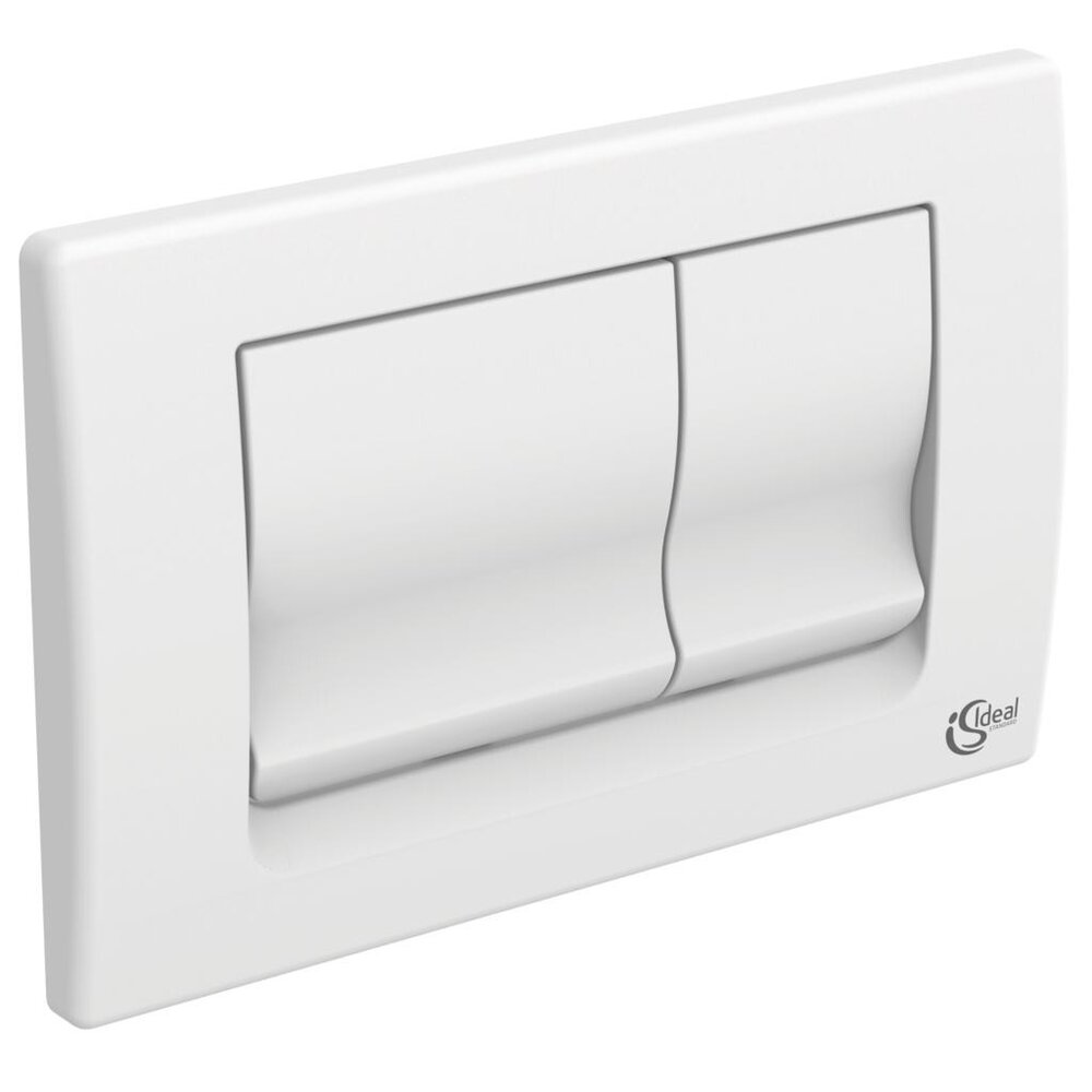 Clapeta de actionare dubla comanda Ideal Standard Solea M1 alb