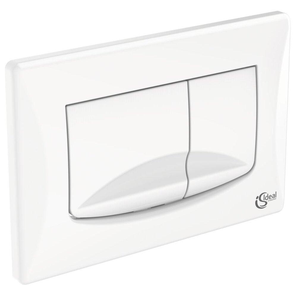 Clapeta de actionare dubla comanda Ideal Standard Solea M2 alb imagine