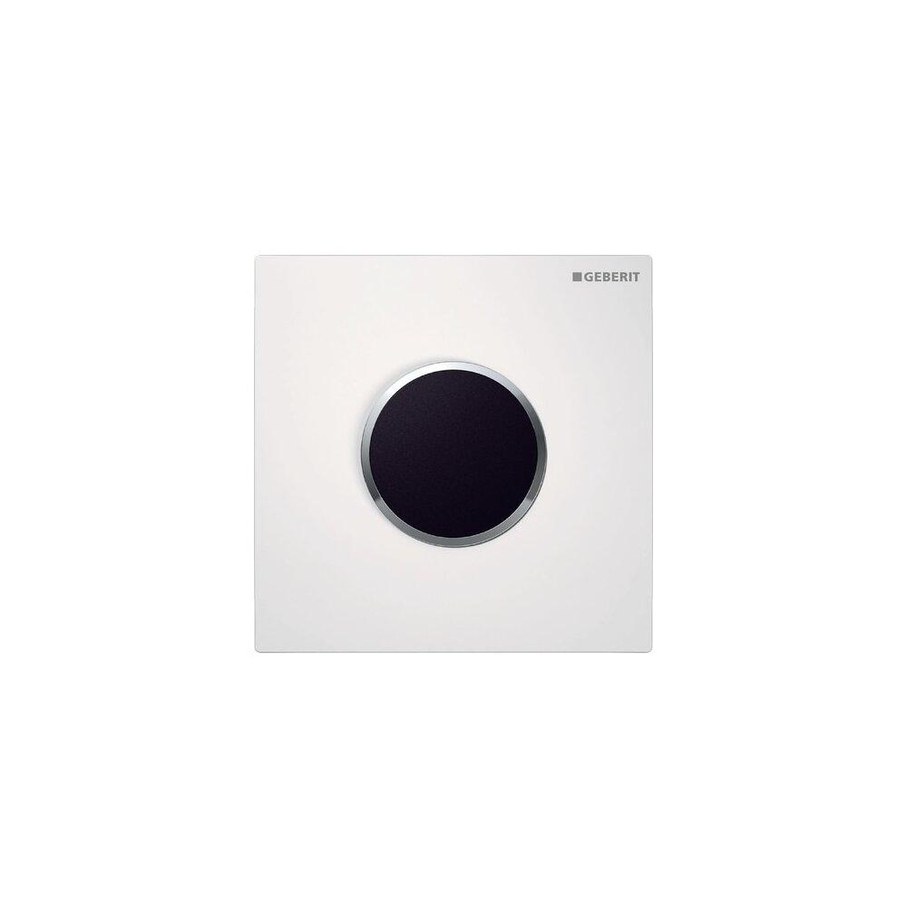 Clapeta de actionare Geberit Sigma 10 pentru pisoar electronica alb crom lucios imagine