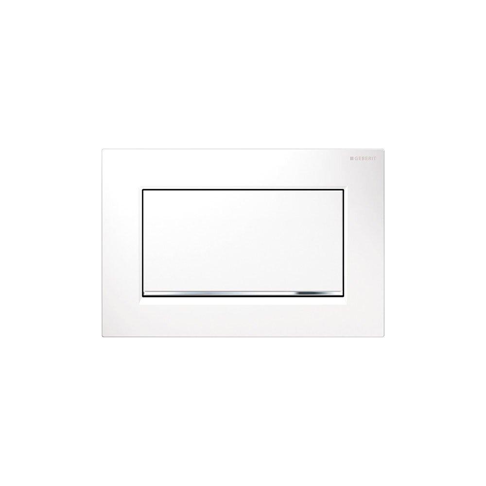 Clapeta de actionare Geberit Sigma 30 alb mat lacuit imagine