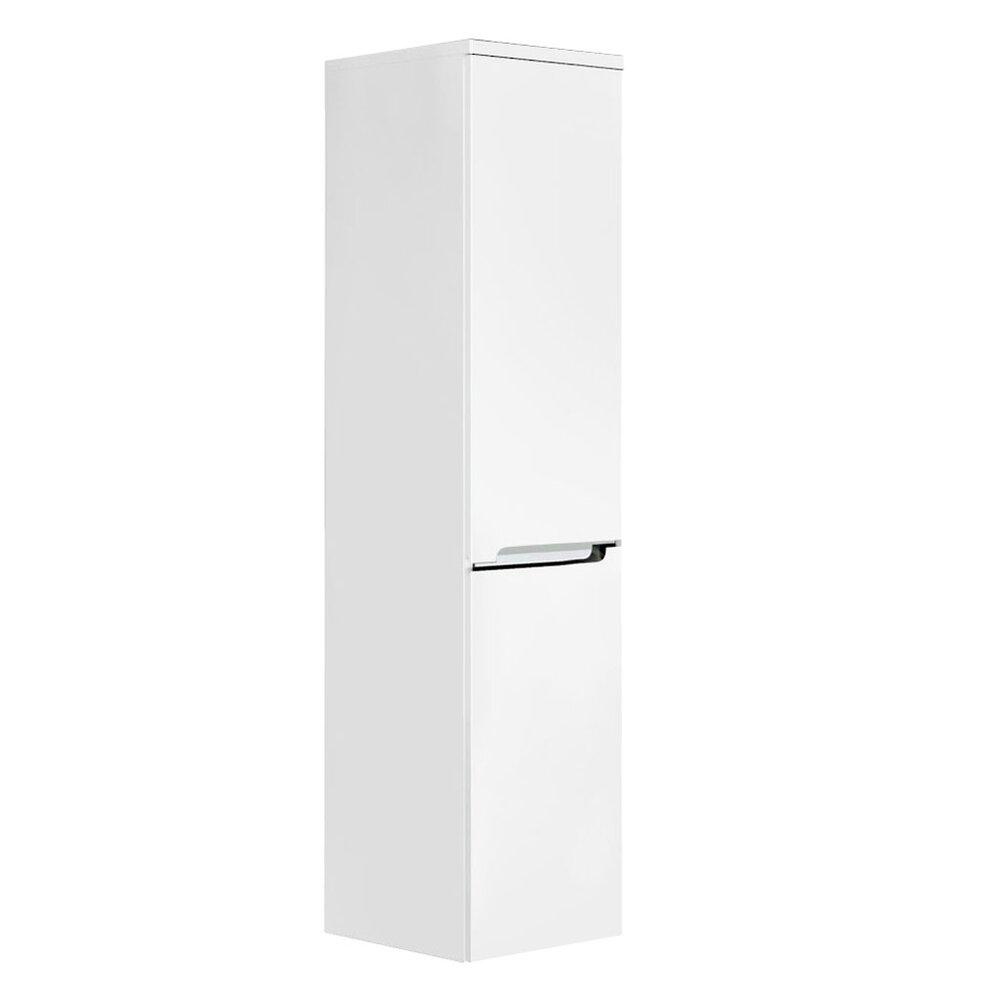 Dulap inalt suspendat usa dreapta Oristo Silver mdf alb 144x35 cm imagine