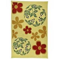 Covor Decorino C-030204 Polipropilena Floral 100x150 cm