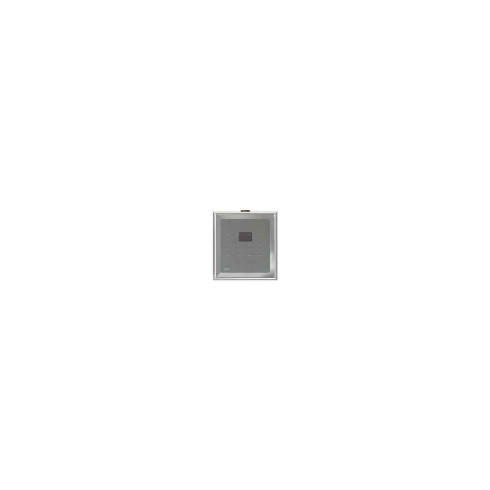 Dispozitiv de clatire automata a pisoarului cromat 12V (alimentare de la retea) Alcaplast ASP4 poza