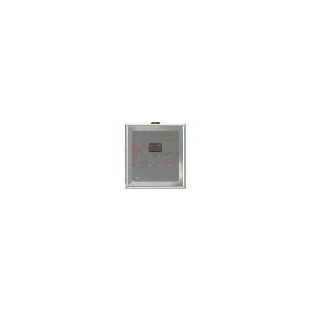 Dispozitiv de clatire automata a pisoarului cromat 6V (alimentare prin acumulatori) Alcaplast ASP4B poza