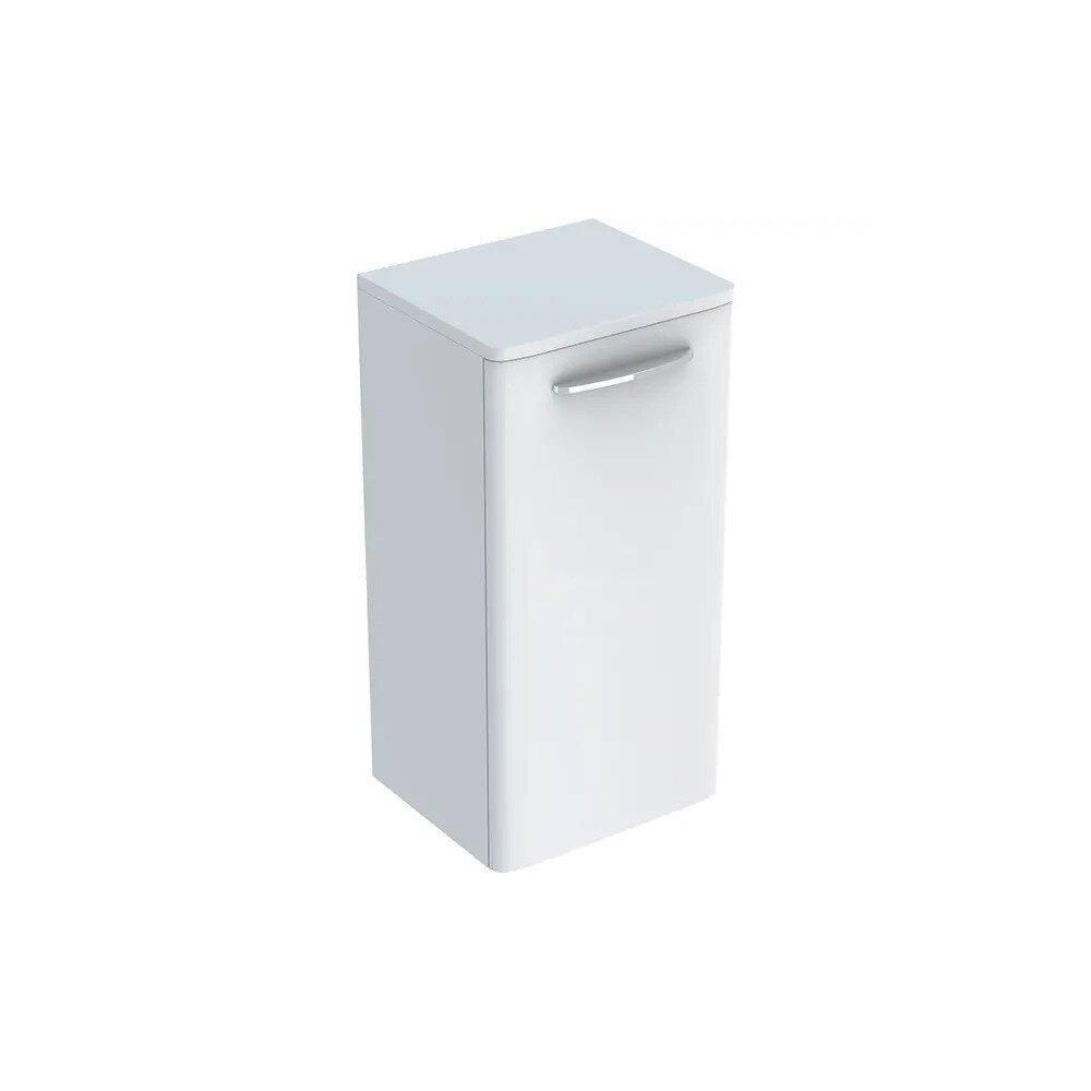 Dulap baie suspendat alb Geberit Selnova Square 1 usa 33 cm