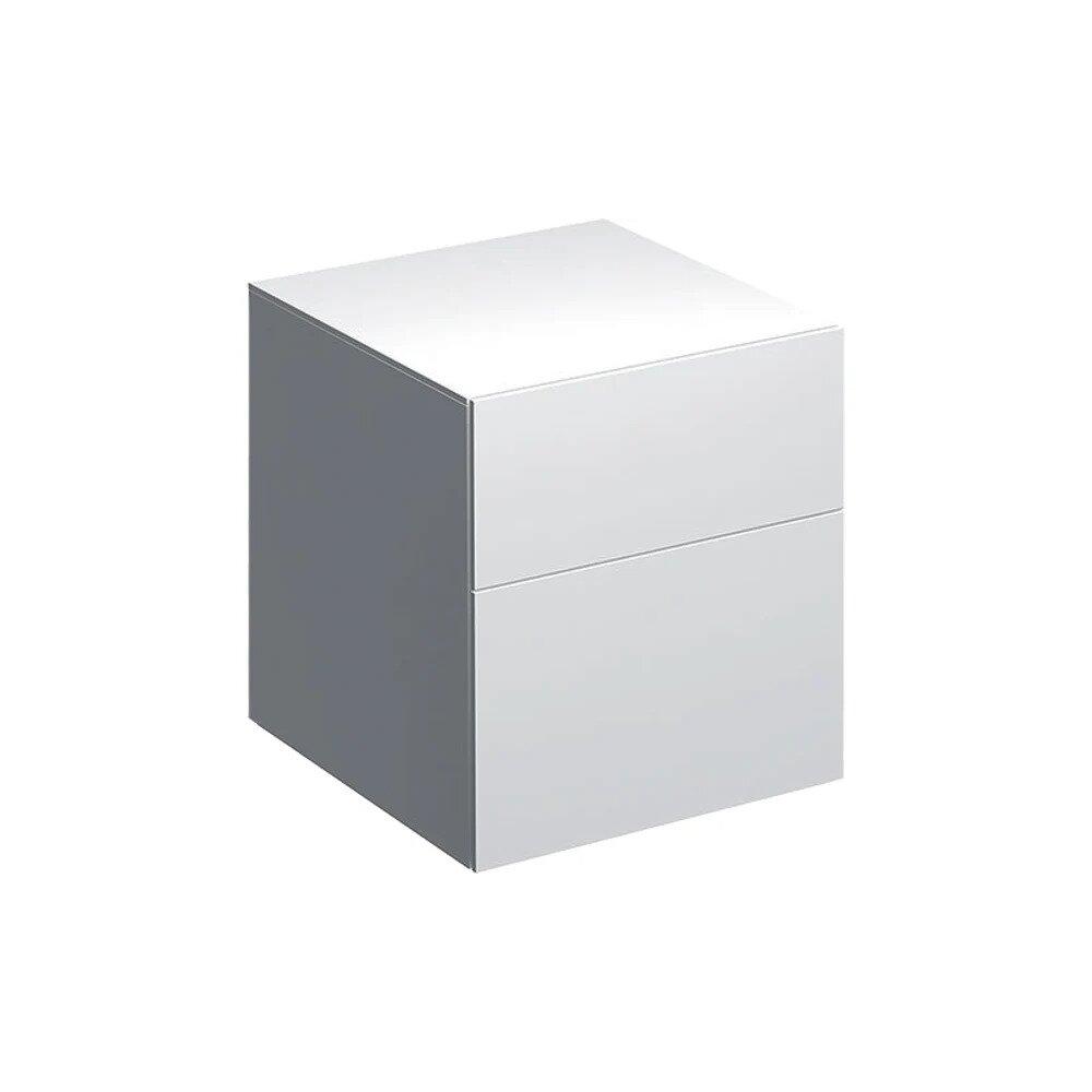 Dulap baie suspendat alb Geberit Xeno² 2 sertare 45 cm neakaisa.ro