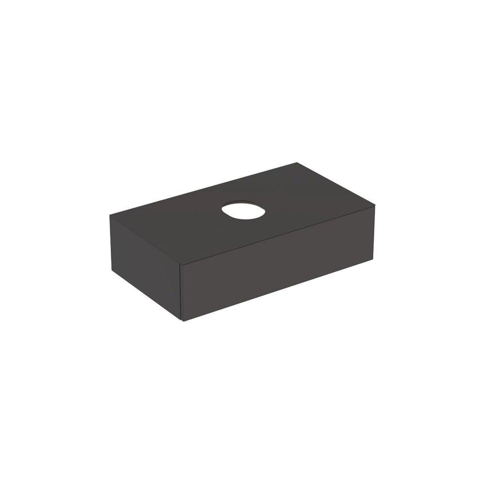 Dulap baza pentru lavoar pe blat Geberit Variform negru 1 sertar 90 cm neakaisa.ro