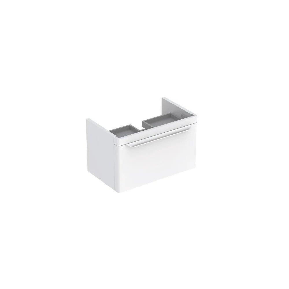 Dulap baza pentru lavoar suspendat alb Geberit Myday 1 sertar 68 cm neakaisa.ro