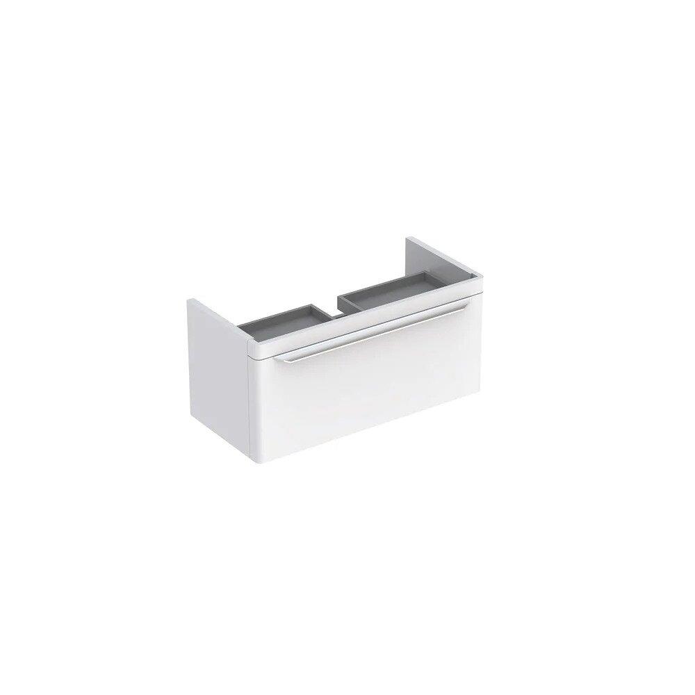 Dulap baza pentru lavoar suspendat alb Geberit Myday 1 sertar 88 cm neakaisa.ro