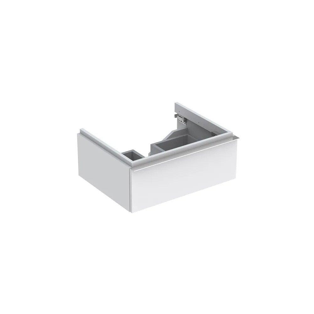 Dulap baza pentru lavoar suspendat alb mat Geberit Icon 1 sertar 60 cm imagine neakaisa.ro