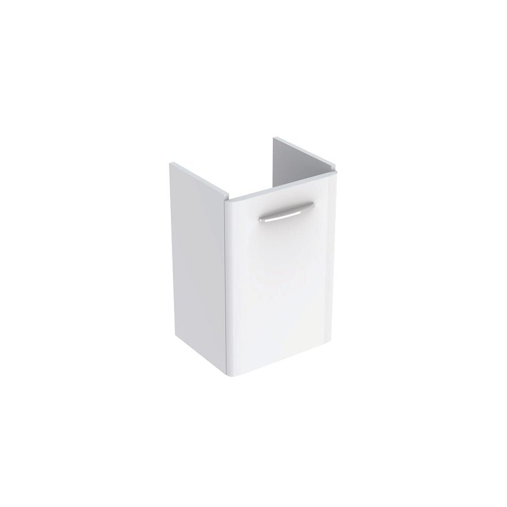 Dulap baza pentru lavoar suspendat Geberit Selnova Square alb 1 usa 45 cm imagine