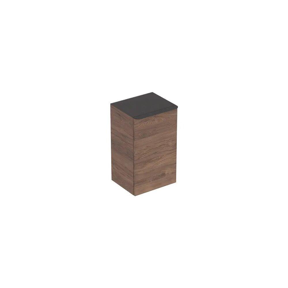 Dulap mediu suspendat Geberit Smyle Square nuc 1 usa opritor stanga 36 cm neakaisa.ro