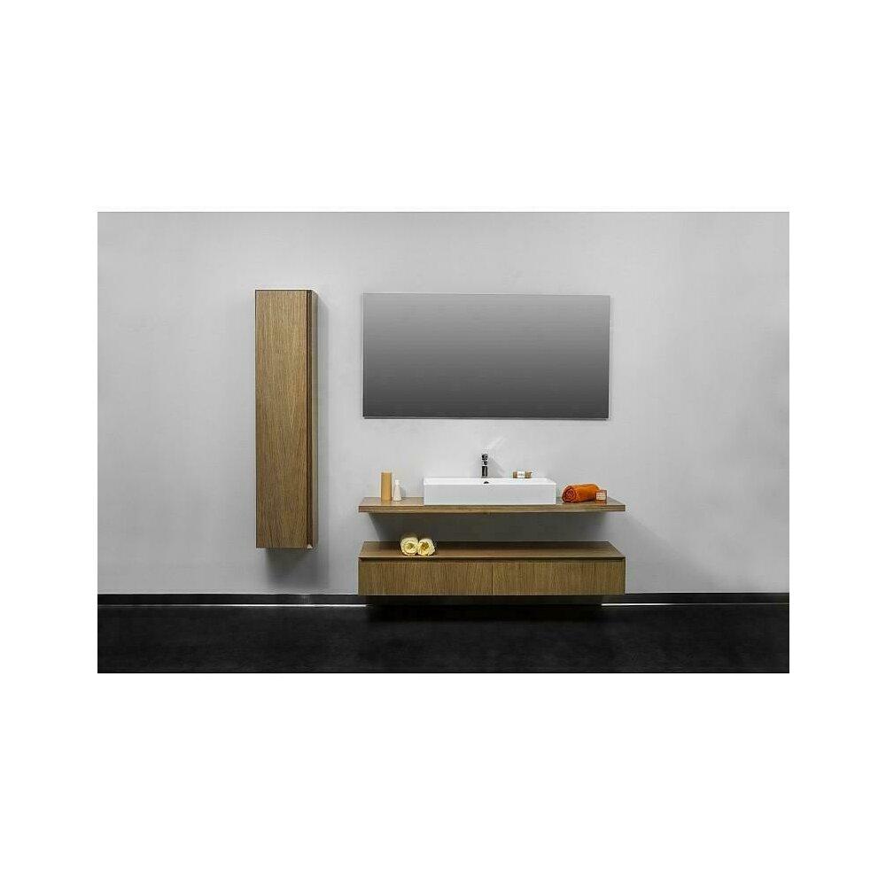 Dulap inalt suspendat Formmat Slim Lux lemn stejar 160x35 cm poza
