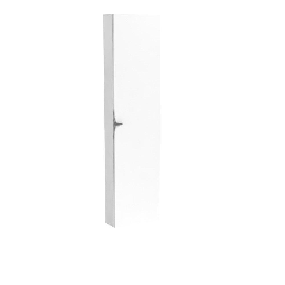 Dulap tip coloana suspendat alb Oristo Siena cu 1 usa softclose imagine