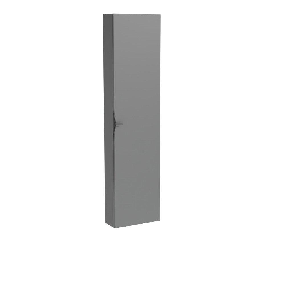 Dulap tip coloana suspendat gri mat Oristo Siena cu 1 usa softclose imagine