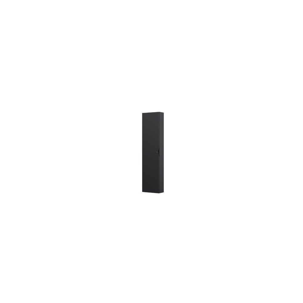 Dulap tip coloana suspendat negru mat Oristo Siena cu 1 usa softclose imagine