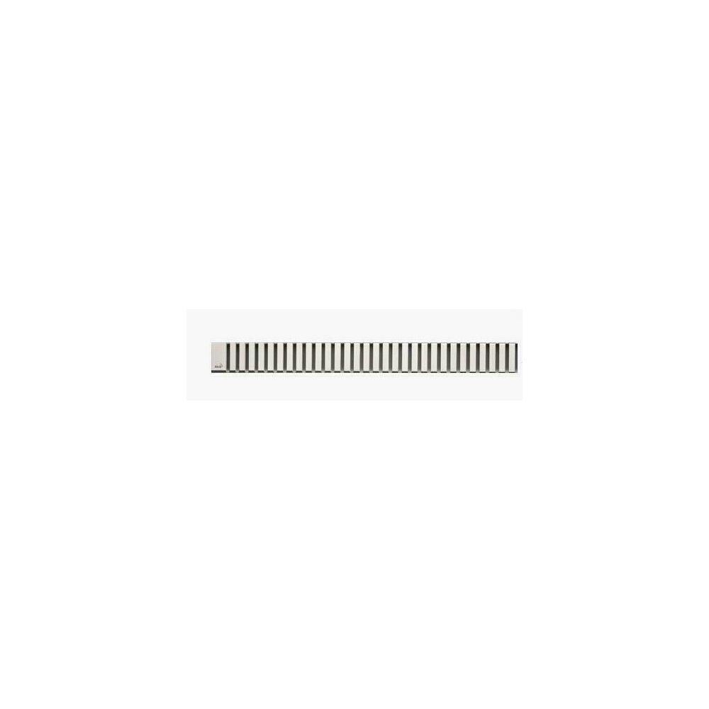 Capac pentru rigola de dus Alcaplast LINE 550L 55 cm otel lustruit