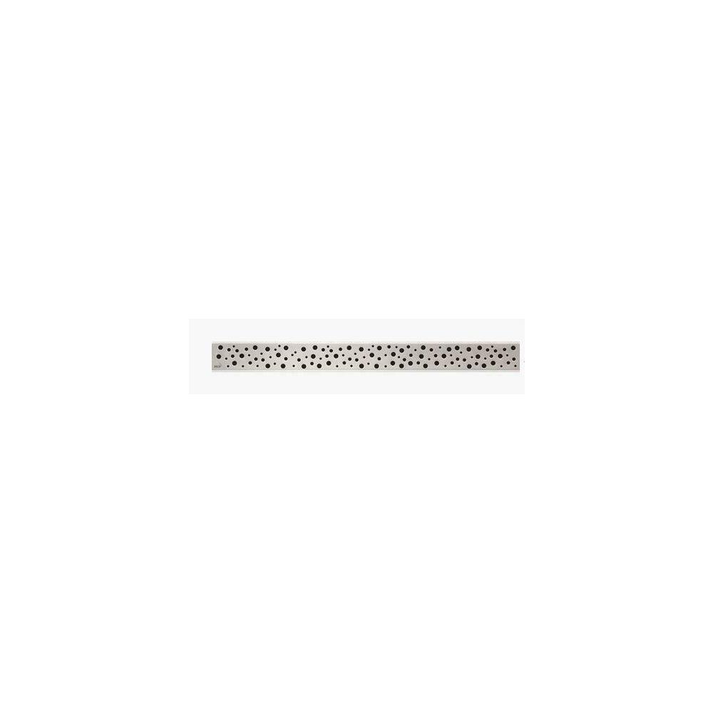 Capac pentru rigola de dus Alcaplast BUBLE 750L 75 cm otel mat poza