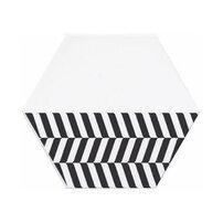 Faianta hexagonala alb-negru Kerama Marazzi Buranelli A207