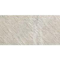 Gresie portelanata rectificata pentru exterior Keope Percorsi Quartz White 60x30 cm