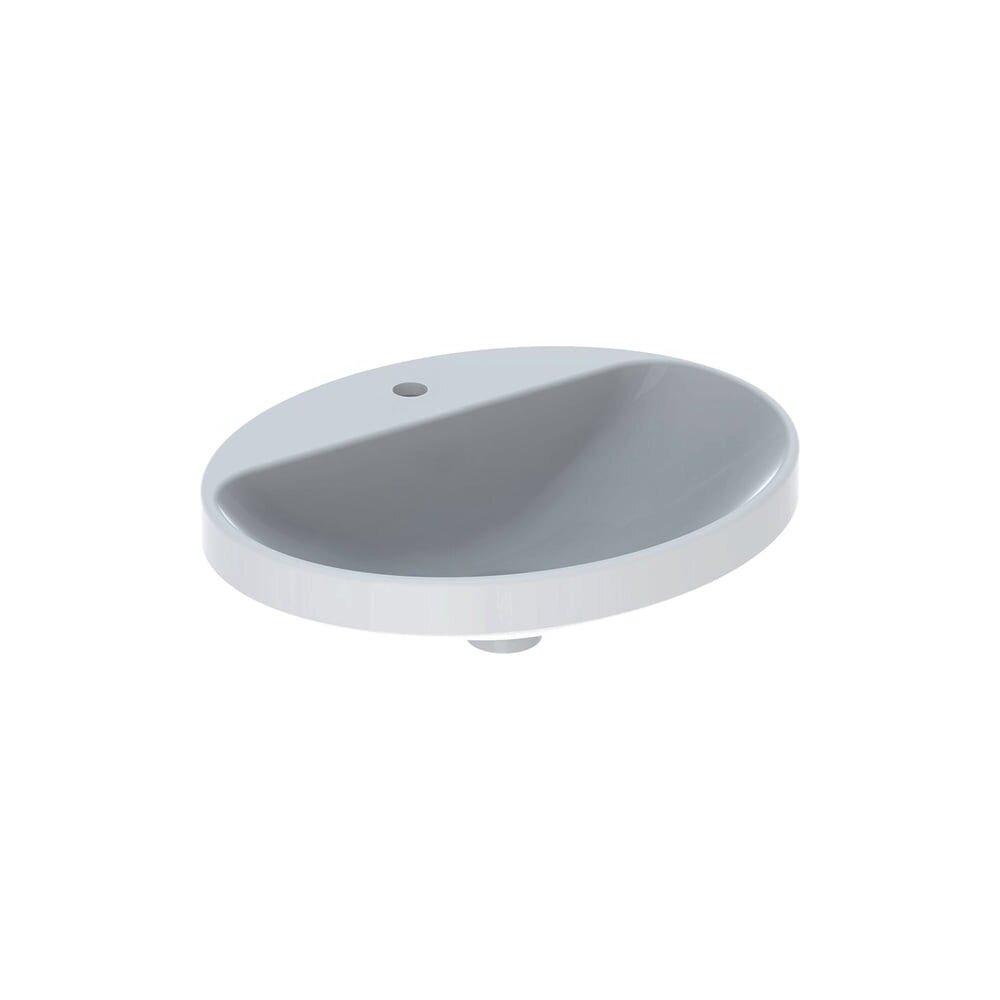 Lavoar incastrat Geberit Variform 55 cm cu orificiu baterie fara orificiu preaplin imagine