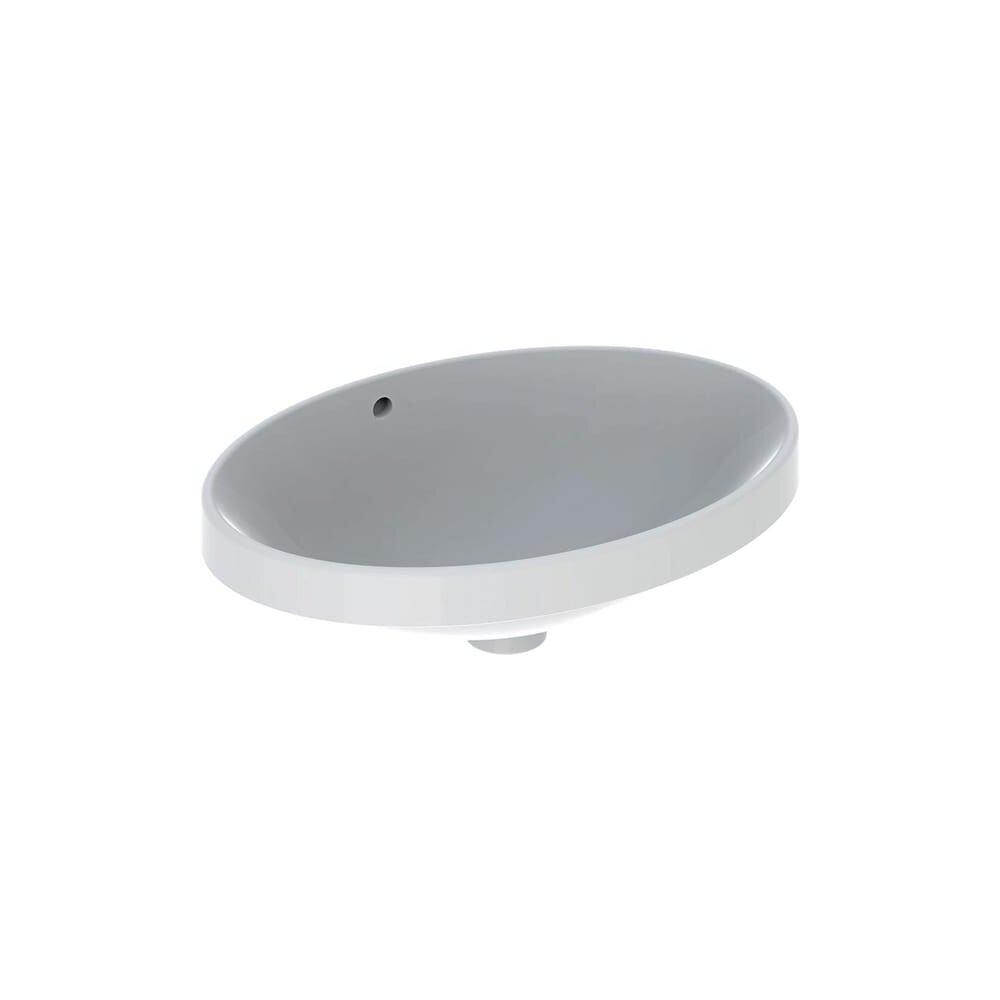 Lavoar incastrat Geberit Variform 55 cm cu orificiu preaplin oval imagine