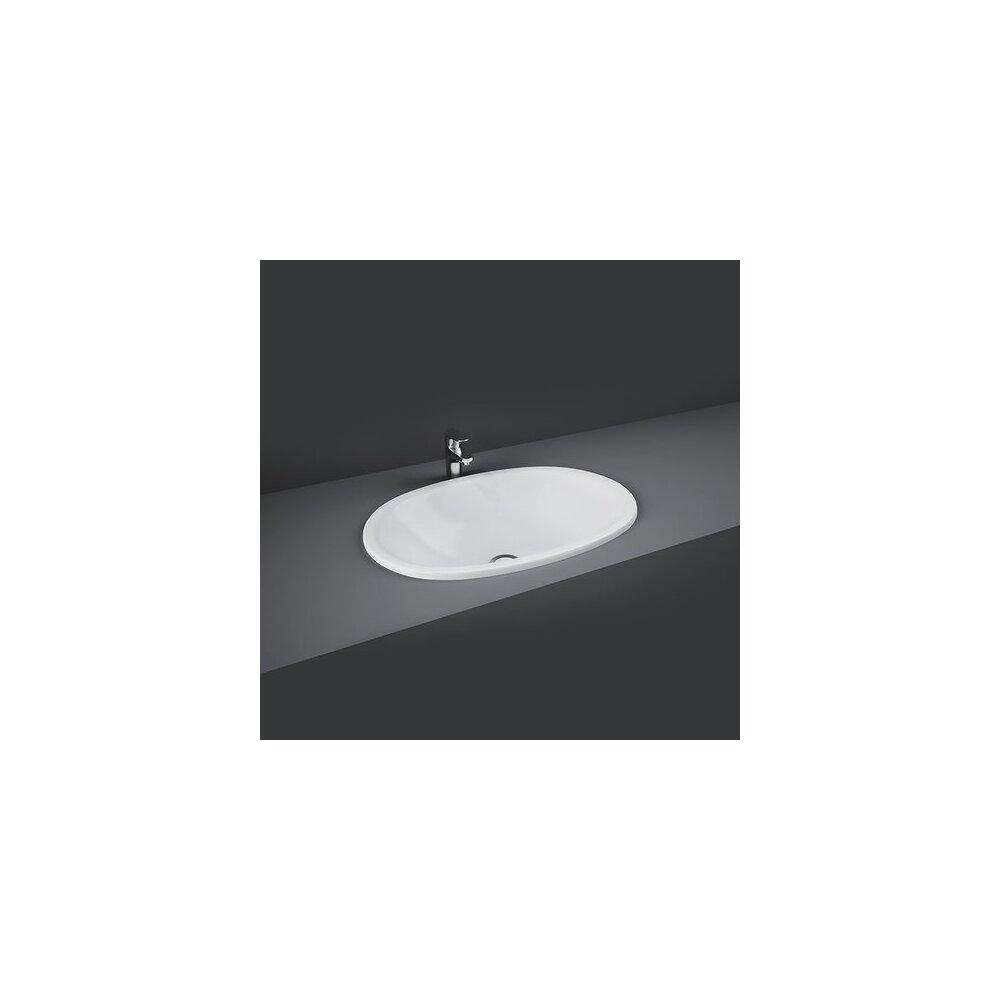 Lavoar incastrat Rak Ceramics Lily 46.5x33.5 cm poza