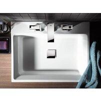 Lavoar pe blat Grohe Cube Ceramic cu PureGuard 50x49 cm