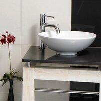 Lavoar pe blat Rak Ceramics Diana rotund 45.5 cm