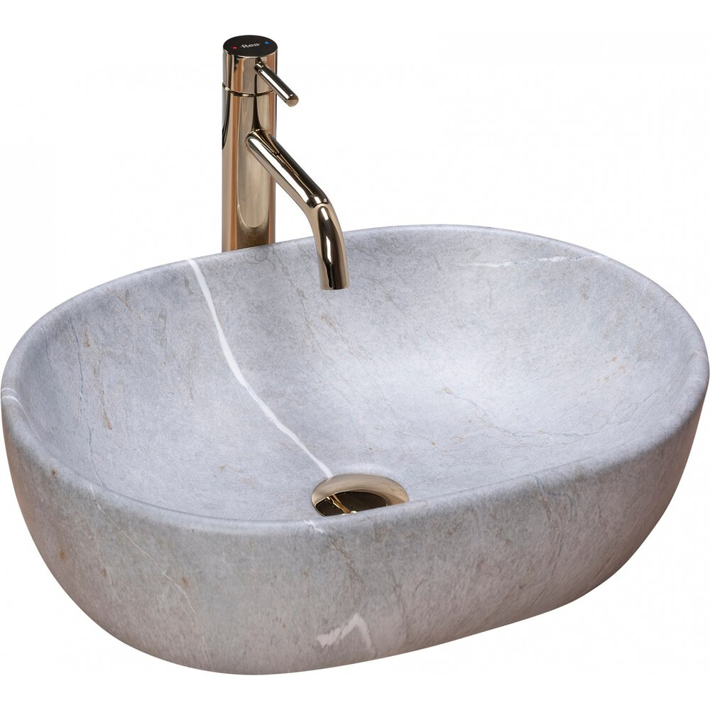 Lavoar pe blat Rea Lara Grey 49 cm poza