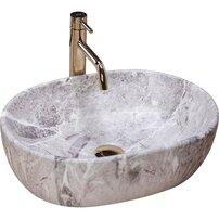 Lavoar pe blat Rea Lara Stone 49 cm