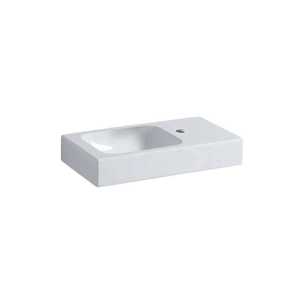Lavoar pe mobilier Geberit Icon 53 cm cu orificiu baterie dreapta imagine