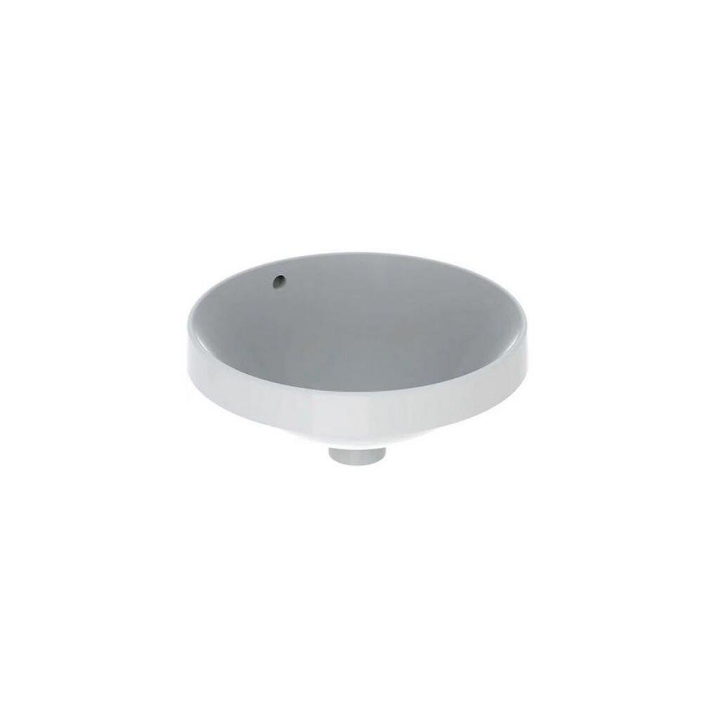 Lavoar semiincastrat Geberit Variform rotund cu preaplin 40 cm imagine