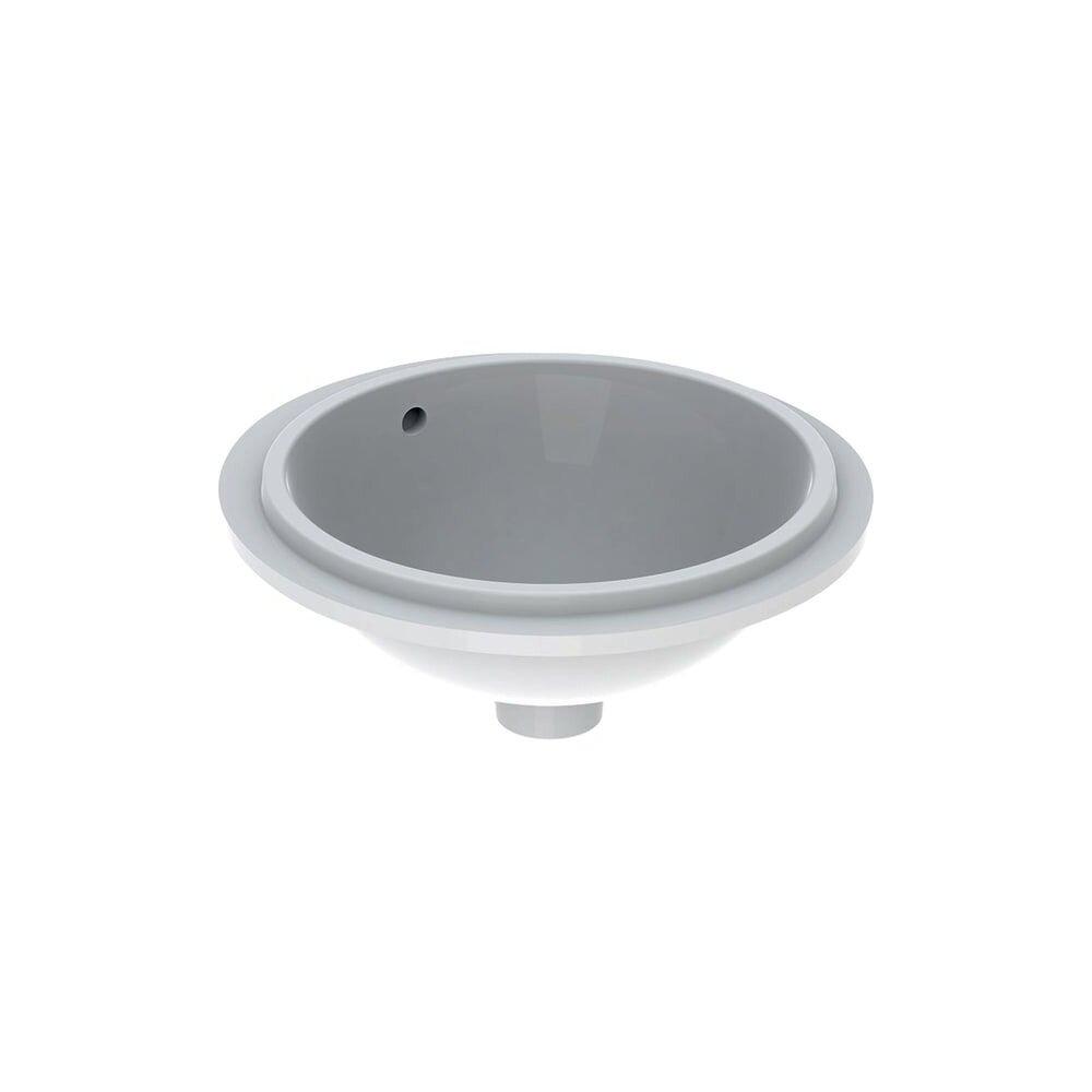 Lavoar sub blat Geberit Variform 39 cm fara orificiu baterie cu orificiu preaplin imagine