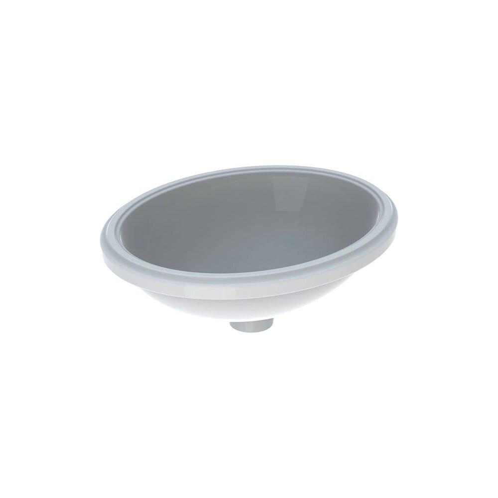 Lavoar sub blat Geberit Variform 48 cm fara orificiu baterie fara orificiu preaplin imagine