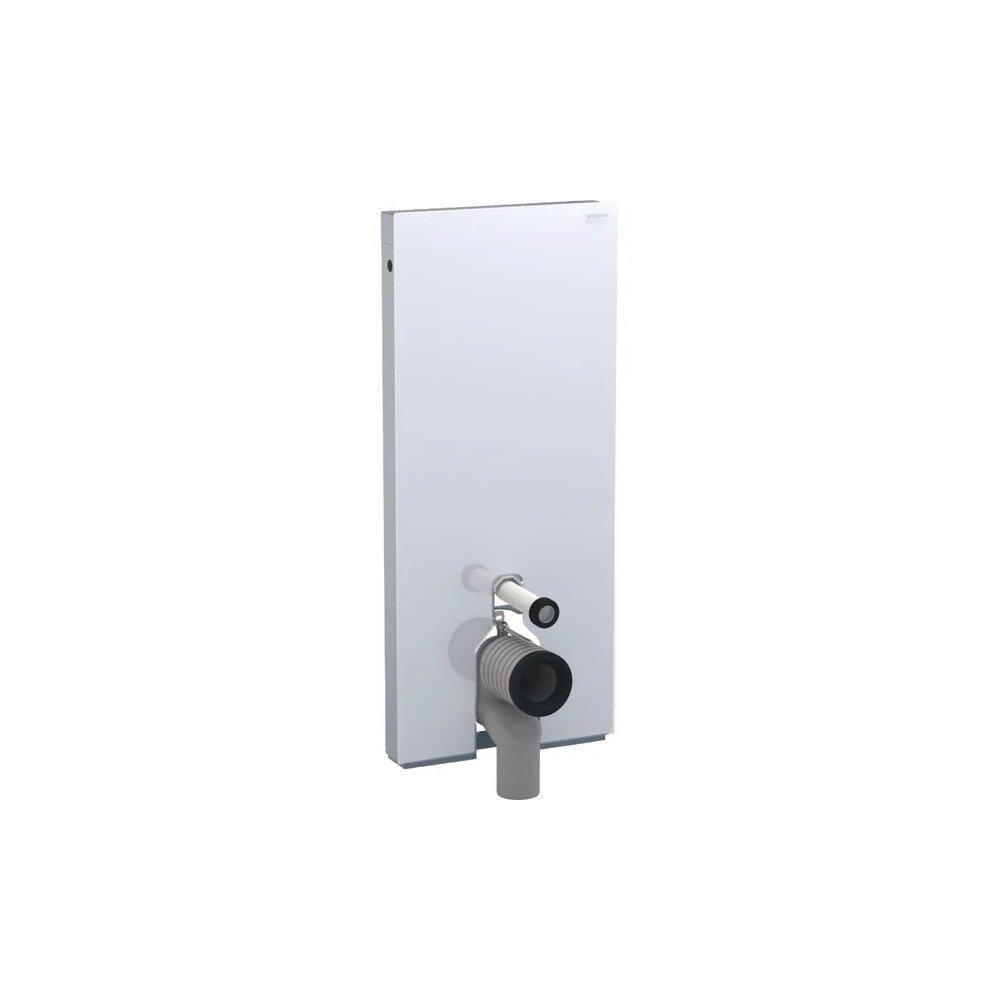 Modul Geberit Monolith pentru wc pe pardoseala alb 114 cm imagine