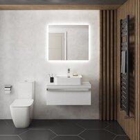 Oglinda cu iluminare si dezaburire Ideal Standard Mirror&Light Ambient 70x70 cm