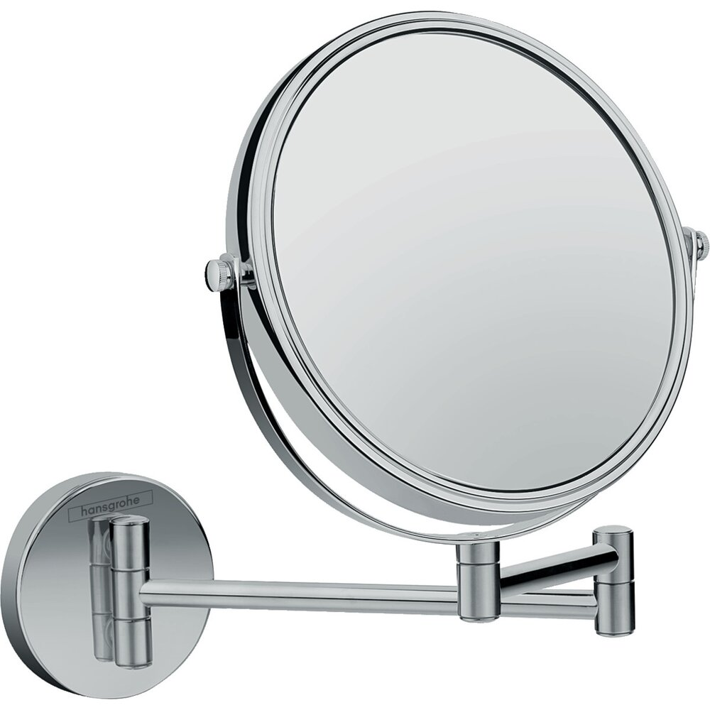 Oglinda cu lupa crom Hansgrohe Logis Universal poza