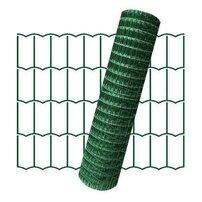 Plasa de gard zincata PVC Europlast 0.6x10m 2.2x100x50mm