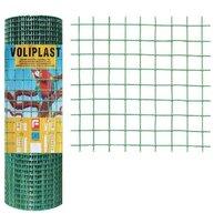 Plasa de gard zincata PVC Voliplast 1x10m 1.2x16x16mm