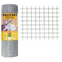 Plasa de gard zincata Volifort 1x25m 0.9x16x16mm