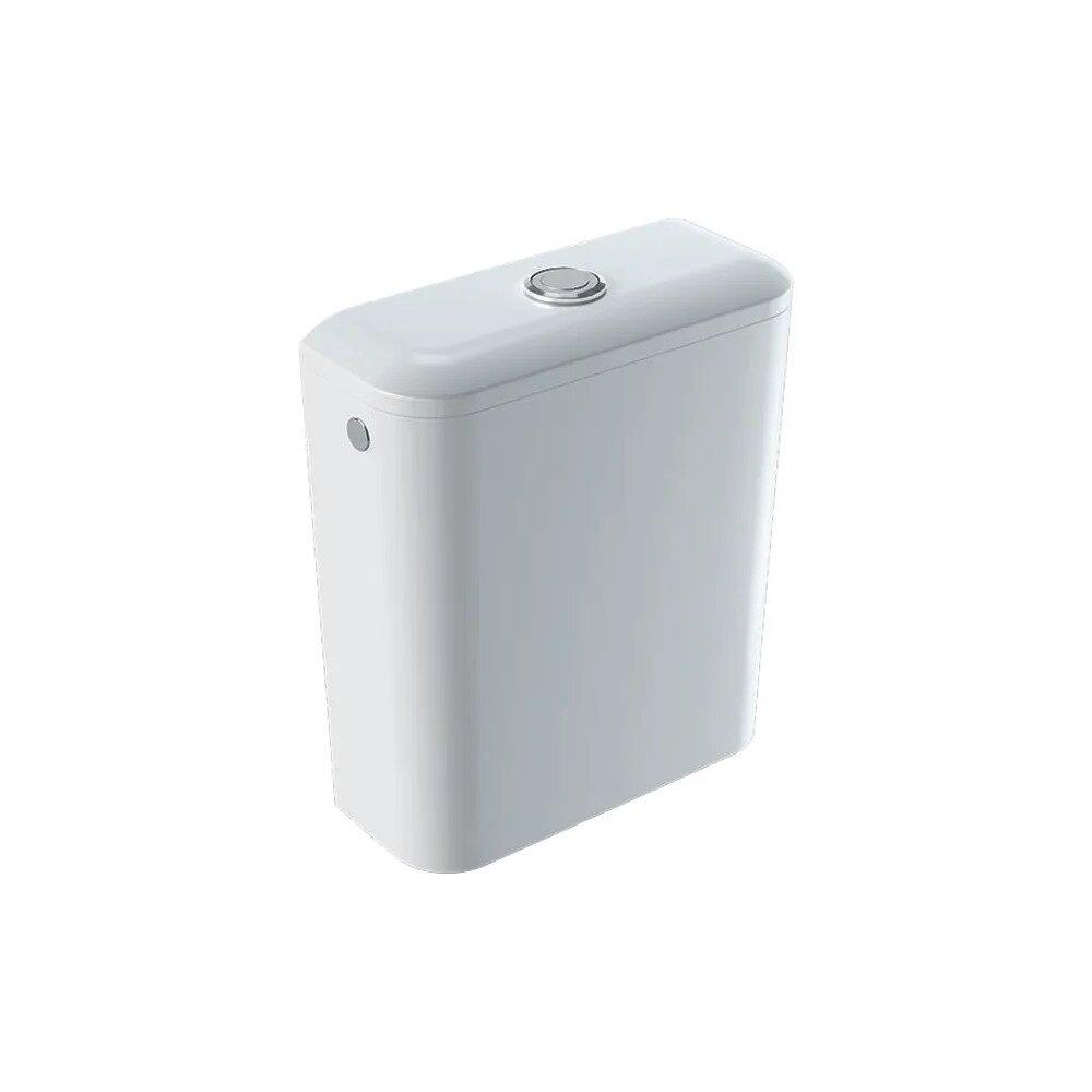 Rezervor asezat pe vas Geberit Icon Square ceramica cu alimentare laterala sau inferioara imagine