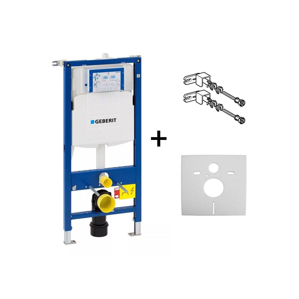 Rezervor ingropat Geberit Duofix Sigma UP320, cu cadru sistem de fixare si set izolare fonica imagine