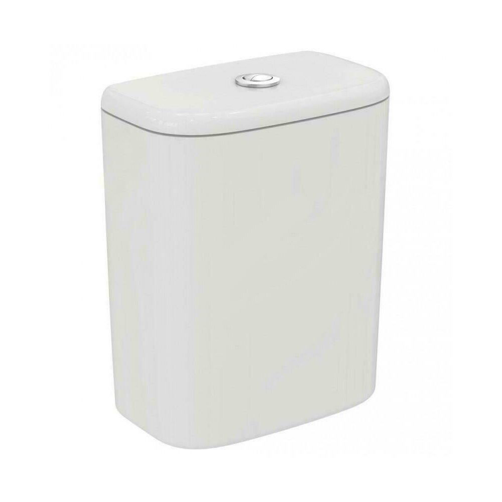 Rezervor wc asezat Ideal Standard Tesi cu alimentare inferioaraalb mat imagine