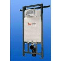 Rezervor WC ingropat Alcaplast Jadromodul ce poate fi adaptat intre pereti inaltime de instalare 1 m