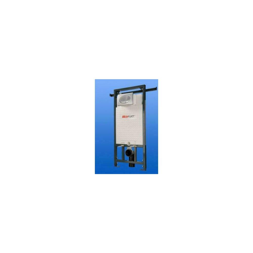 Rezervor WC ingropat Alcaplast Jadromodul ce poate fi adaptat intre pereti inaltime de instalare 1 m imagine