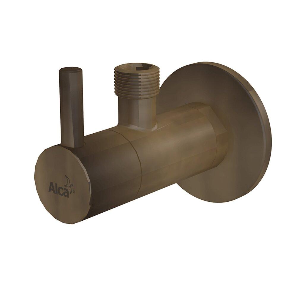 Robinet coltar cu filtru 1/2 tol x 3/8 tol ARV001-ANTIC Alcaplast bronz antic neakaisa.ro