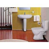 Set complet vas wc Ideal Standard Eurovit cu rezervor si capac inchidere lenta
